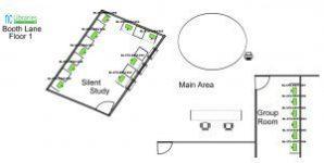 Floor 1 Silent Study & Group Room