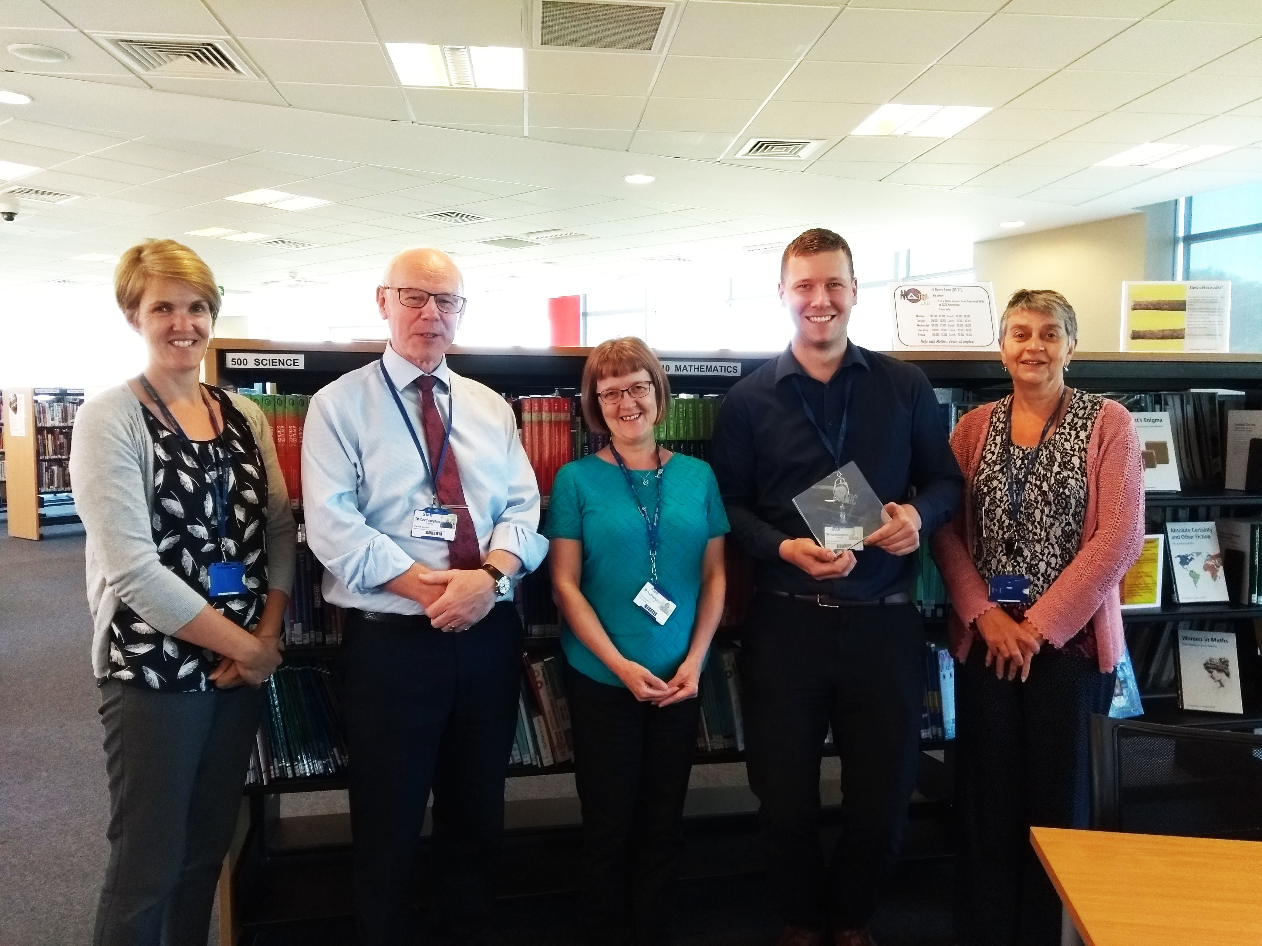 Another Award For Northampton College Libraries.