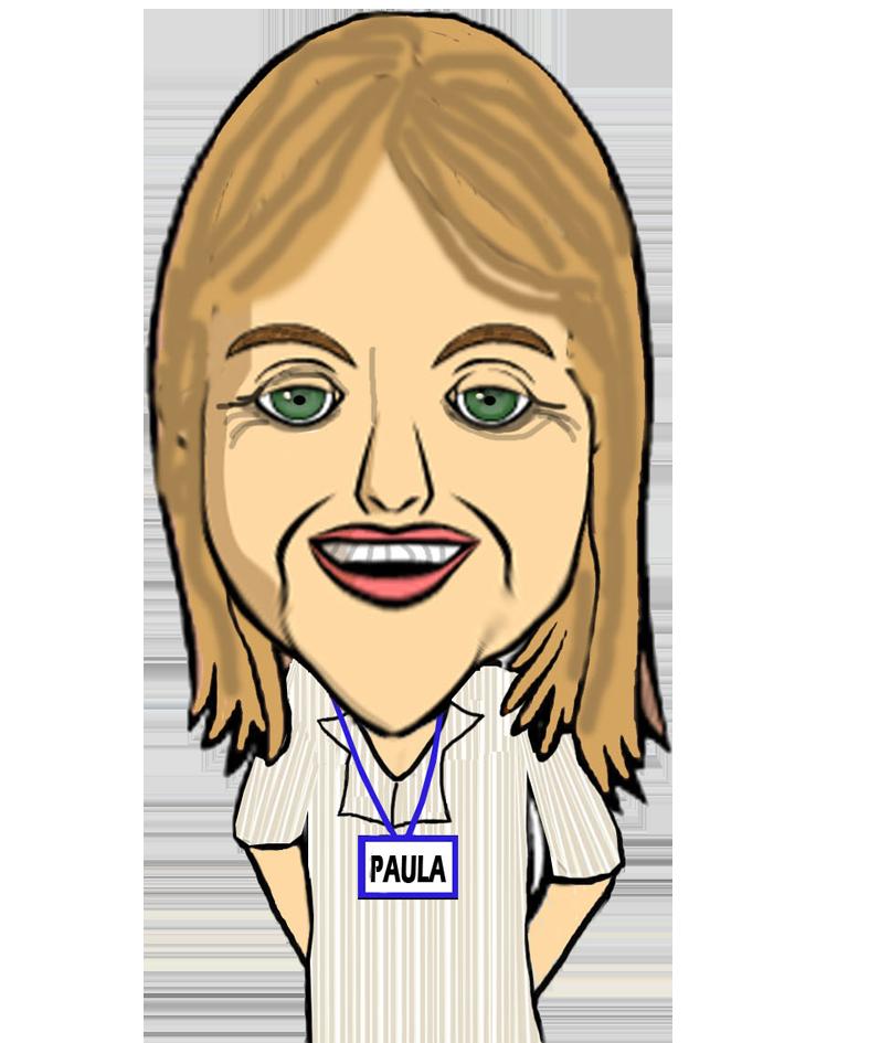 Cartoon of Paula