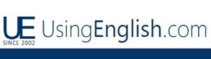 UsingEnglish.com logo