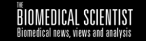 The Biomedical Scientist logo