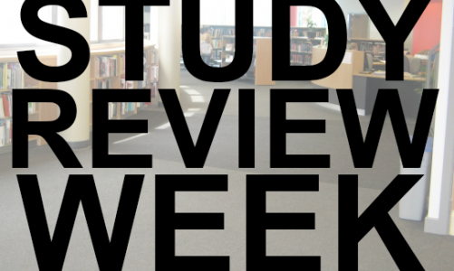 Library Access – Study Review Week