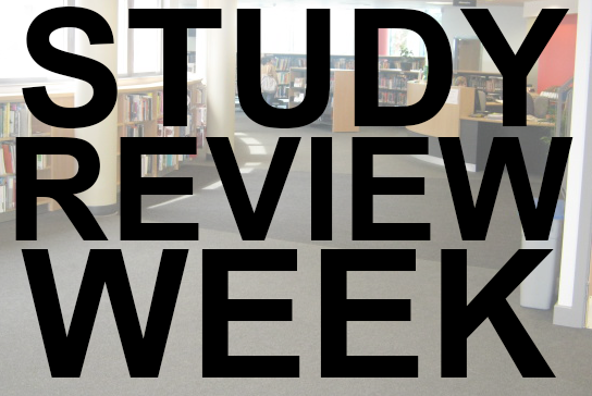 Study Review Week Opening Hours