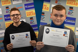 Daventry students with their certificates