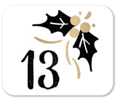 advent calendar door 13