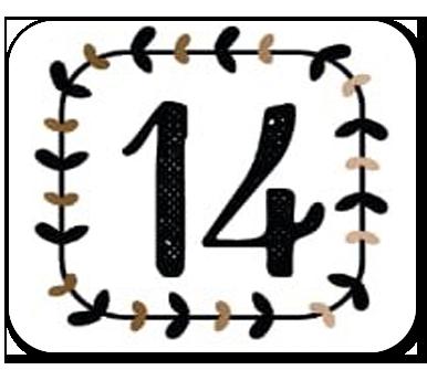 advent calendar door 14