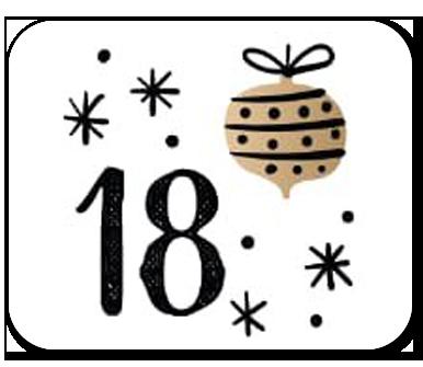 advent calendar door 18