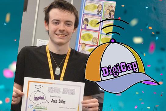DigiCap student, Jack Dolan