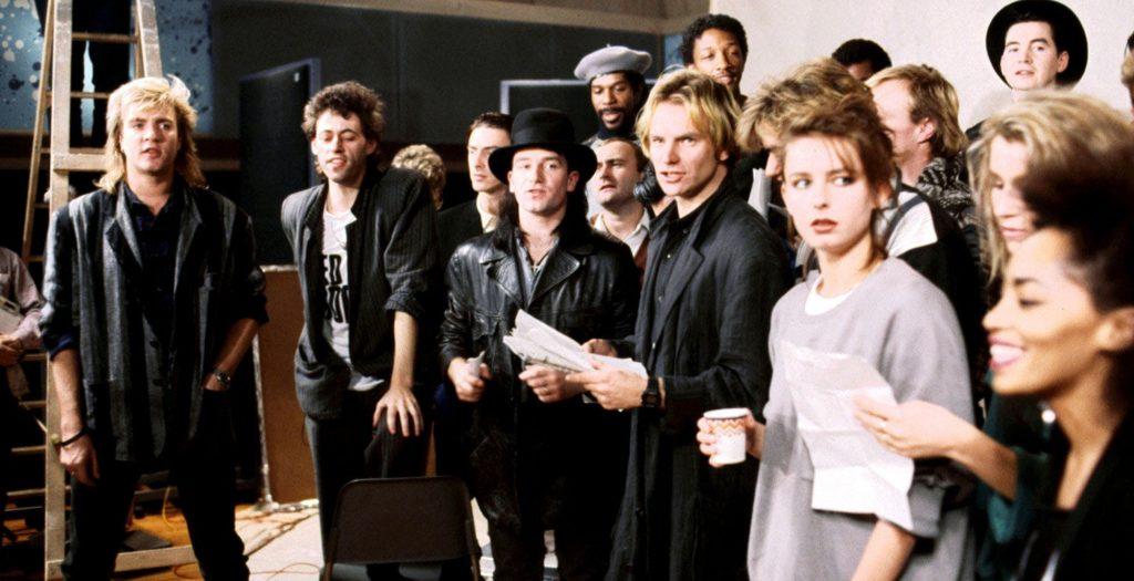 Band Aid singers