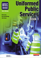 Uniformed Public Services Book 1