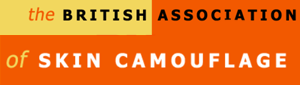 British Association of Skin Camouflage logo