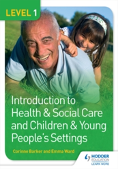 Level 1 Introduction to Health and Social Care and Children & Young People's Settings