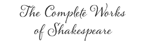 Complete Works of Shakespeare logo