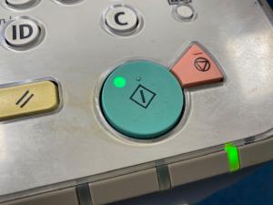 green copy button