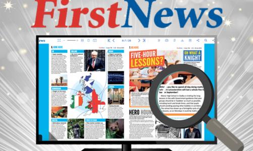 New online resource: First News