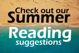 Check out our Summer reading suggestions