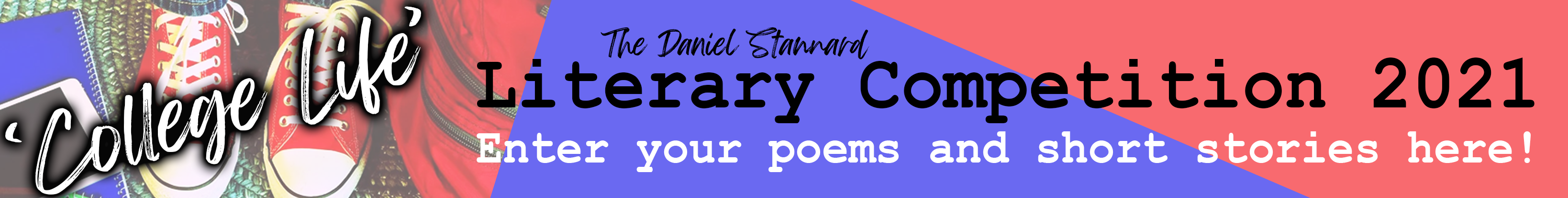 Literary Competition 2021 - Enter your poems and short stories here!
